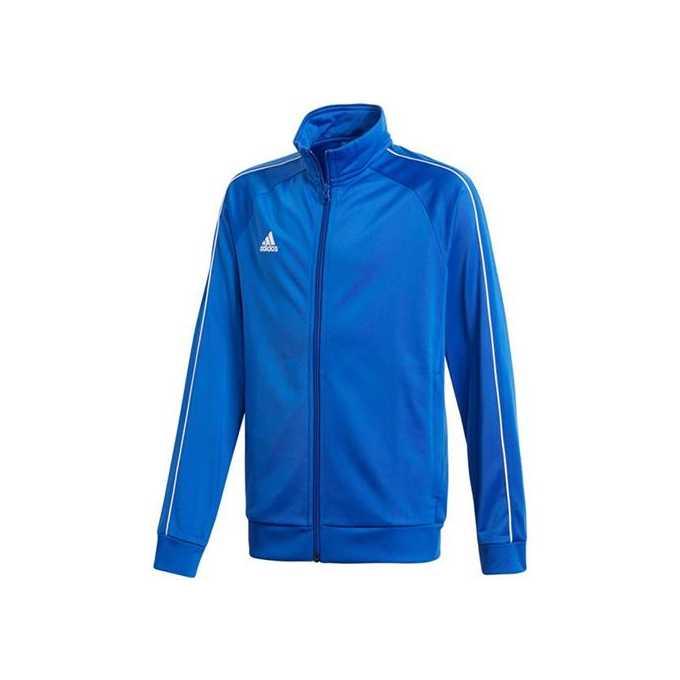 a156d6fee Bluza adidas Core 18 Jr CV3578 niebieska