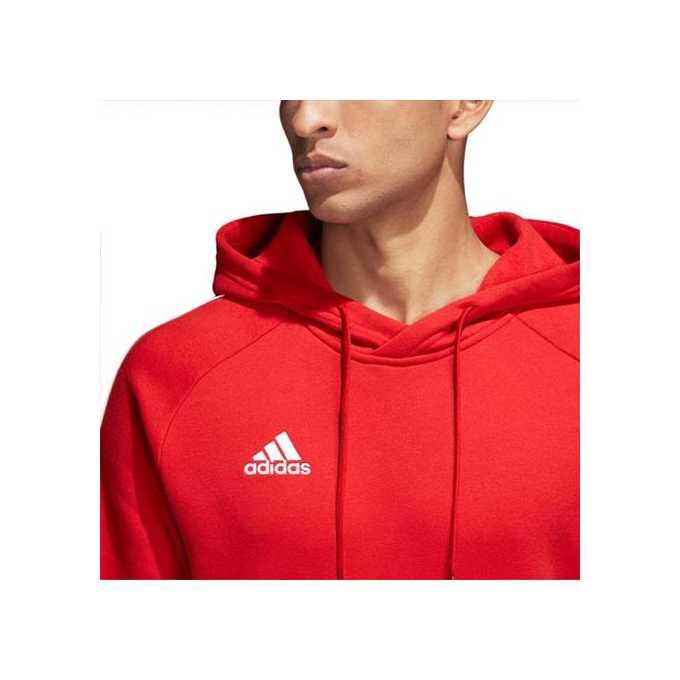 Bluza z kapturem Adidas CV3337 czerwona
