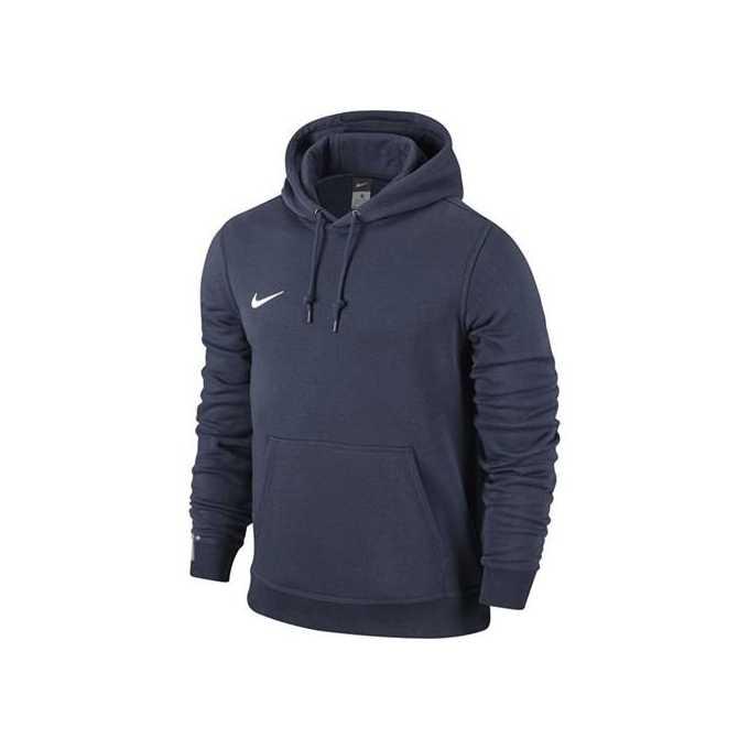 zamówienie tanie trampki Najnowsza moda Bluza Nike Team Club Hoody 658498 451 granatowa